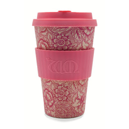 Ecoffee Cup William Morris 'Poppy' 14oz/400ml