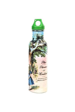 Alice In Wonderland Stainless Steel Water Bottle