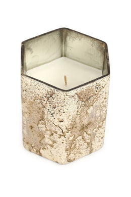 Antique Style Glass Candle