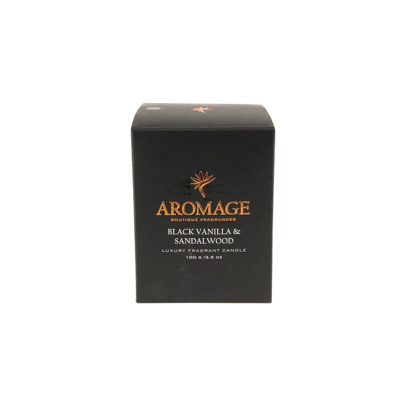 Aromage Candle 100G - Black Vanilla & Sandalwood