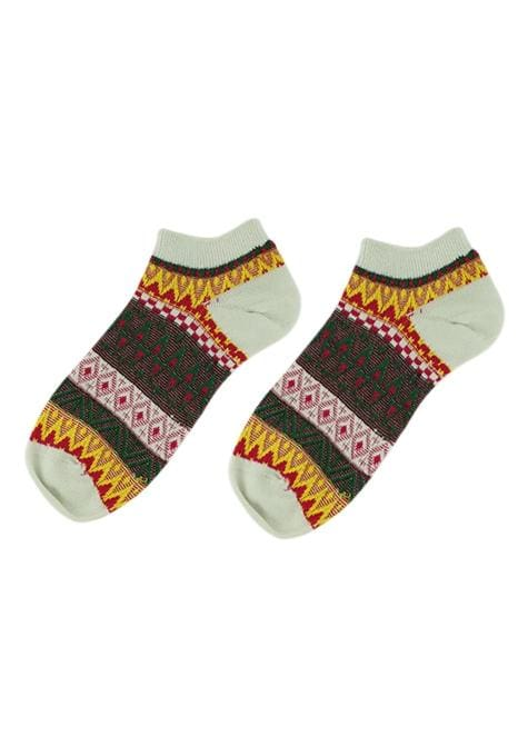Assorted Aztec Ankle Socks