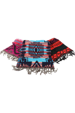 Assorted Aztec Print Scarf