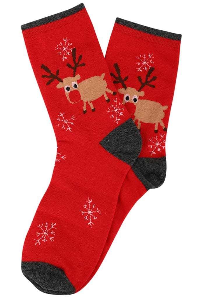 Assorted Christmas Socks Pack Of 3