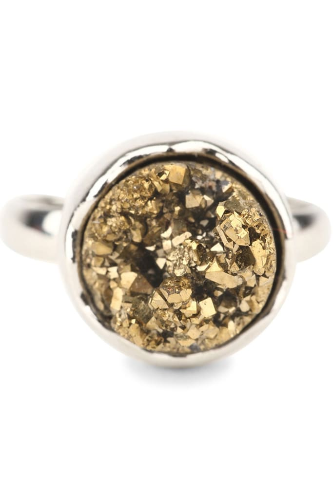 Assorted Cosmic Druzy Ring
