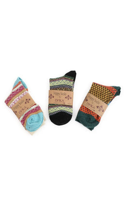Assorted Crew Hippy Socks