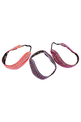 Assorted Ethnic Multicolour Head Band