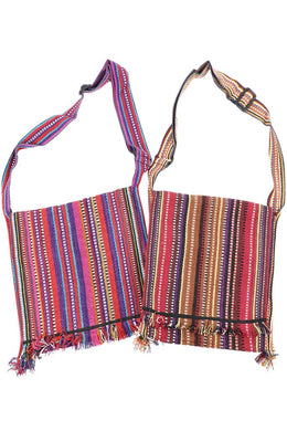 Assorted Fringed Shoulder Bag