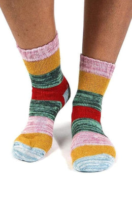 Assorted Hippie Stripe Socks