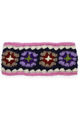 Assorted Multi Crochet Wool Headband