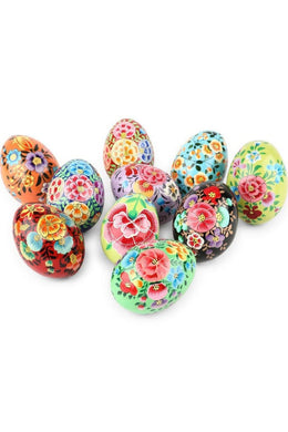 Assorted Papermache Hazara Eggs