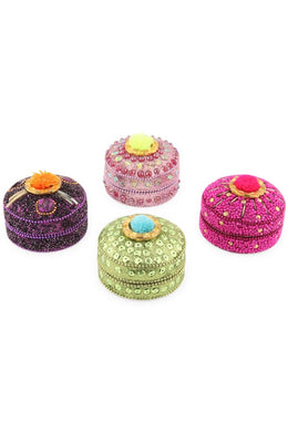 Assorted Pom Pom Glitter Box