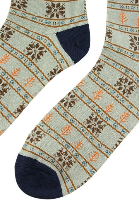 Assorted Snowflake Socks