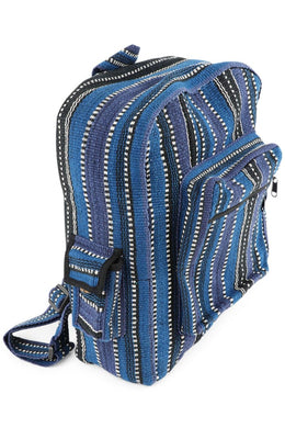 Assorted Striped Large Nepali Backpack