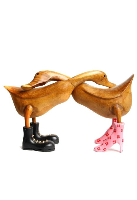 Bamboo Duck Couple