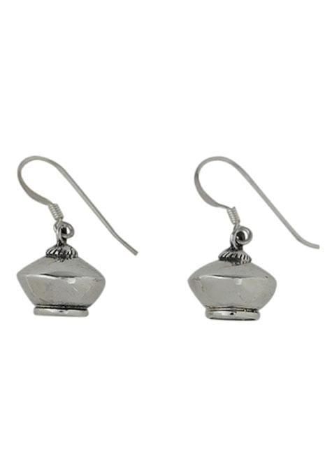 Bauble Charms Silver Earrings