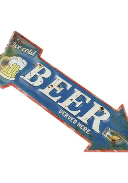 Beer Arrow Wall Hanging