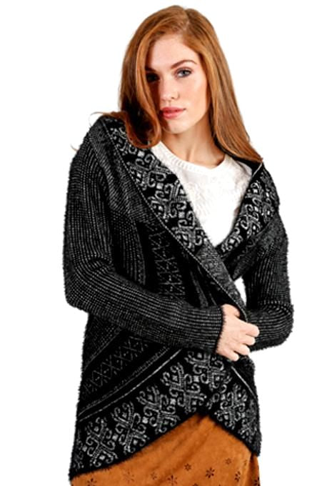 Black & White Cardigan