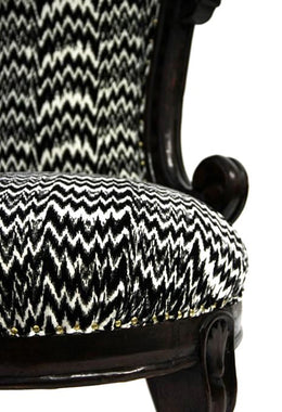 Black & White Chair