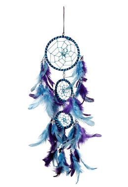 Blissful Blue Dream Catcher