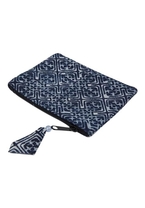 Block Print Coin Purse
