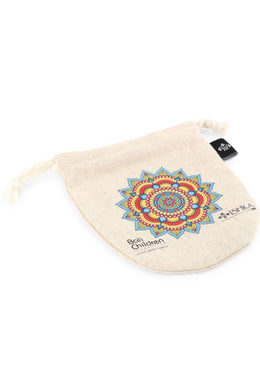 Blue Mandala Bali Drawstring Charity Bag