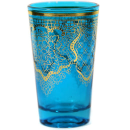 Blue Moroccan Tea Glass
