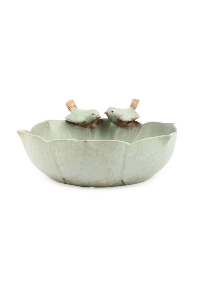 Bowl With Birds - Large