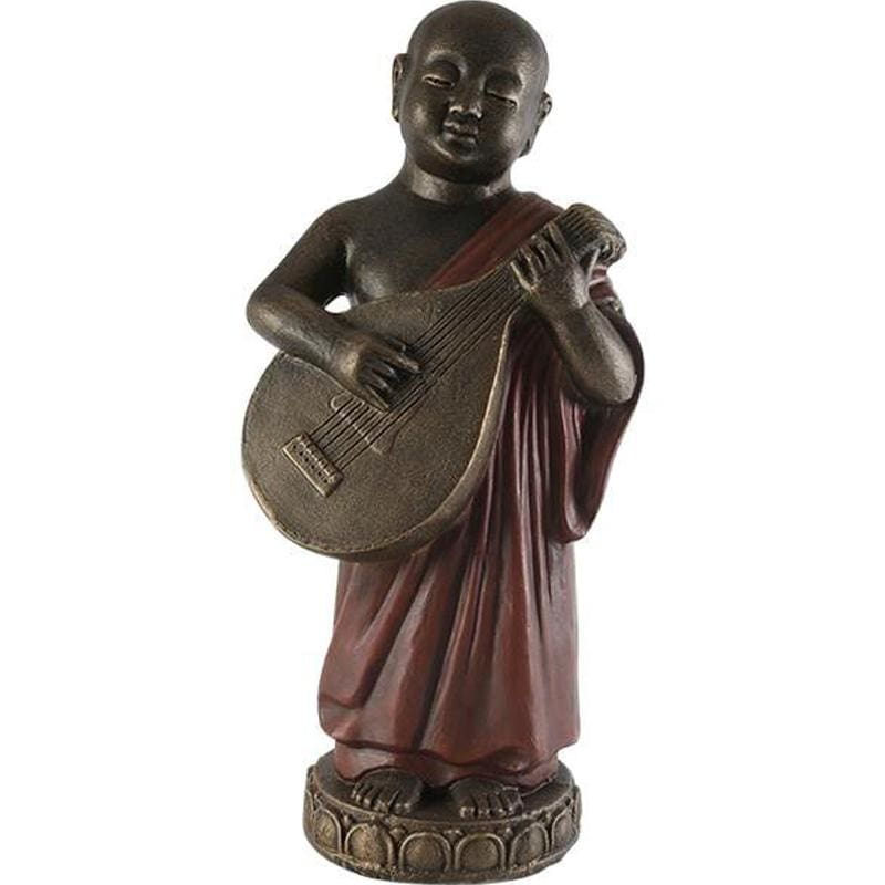 Boy With Mandolin Statue