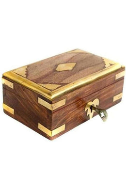 Brass Cigar Box - Small
