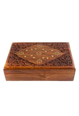 Brass Inlay Box