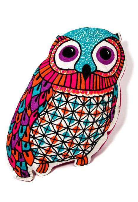 Bright Owl Cushion