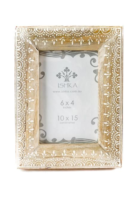 Brown Antique Photo Frame
