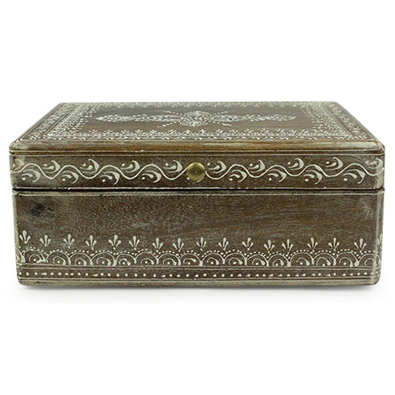 Brown Henna Box