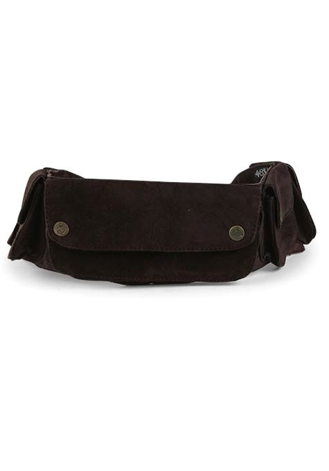 Brown Pocket Festival Belt