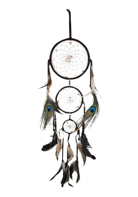 Brown Suede Dreamcatcher
