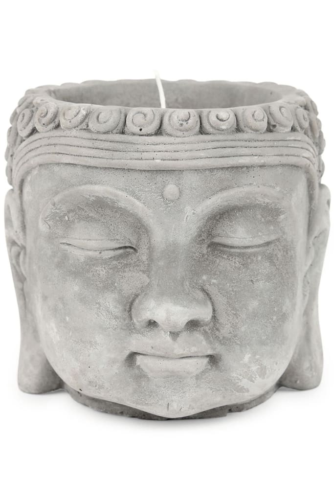 Buddha Potted Citronella Candle