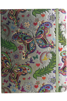 Butterfly Foil Notebook - Large