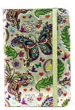 Butterfly Foil Notebook - Small