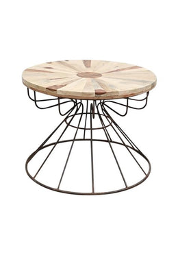 Cage & Wheel Table