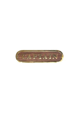 Captain Door Sign
