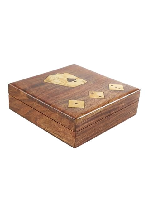 Card And Dice Game Box
