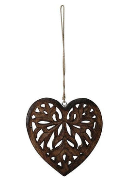Carved Jali Heart