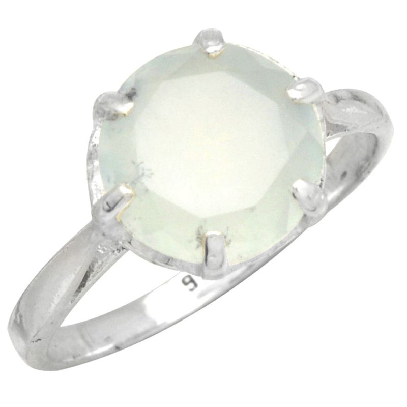 Claw Set Chalcedony Ring