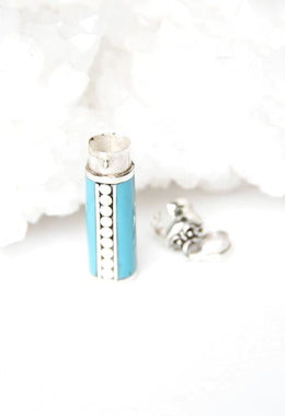 Coloured Perfume Bottle Pendant