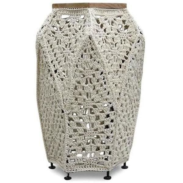 Crochet Side Table