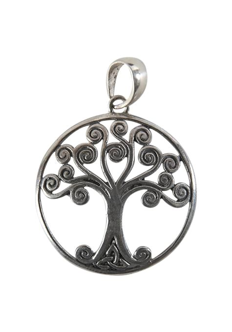 Curly Tree Of Life Pendant