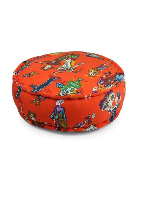 Day Of The Dead Ottoman