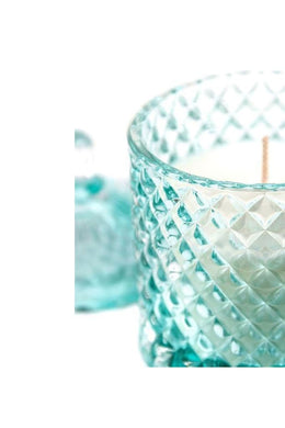 Diamond Glass Soy Candle Jar