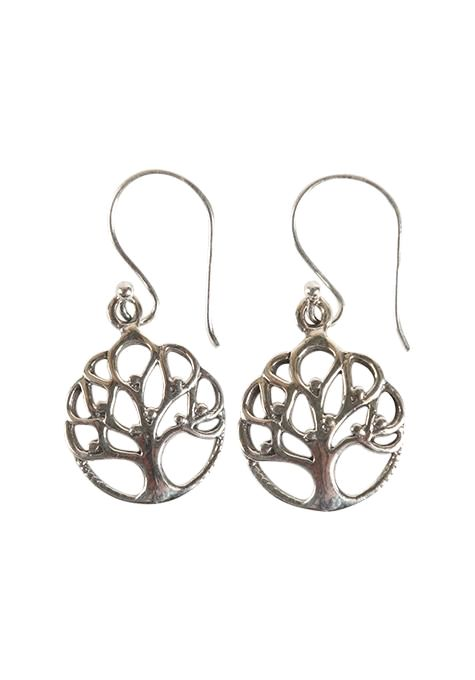 Dotted Tree Of Life Earrings
