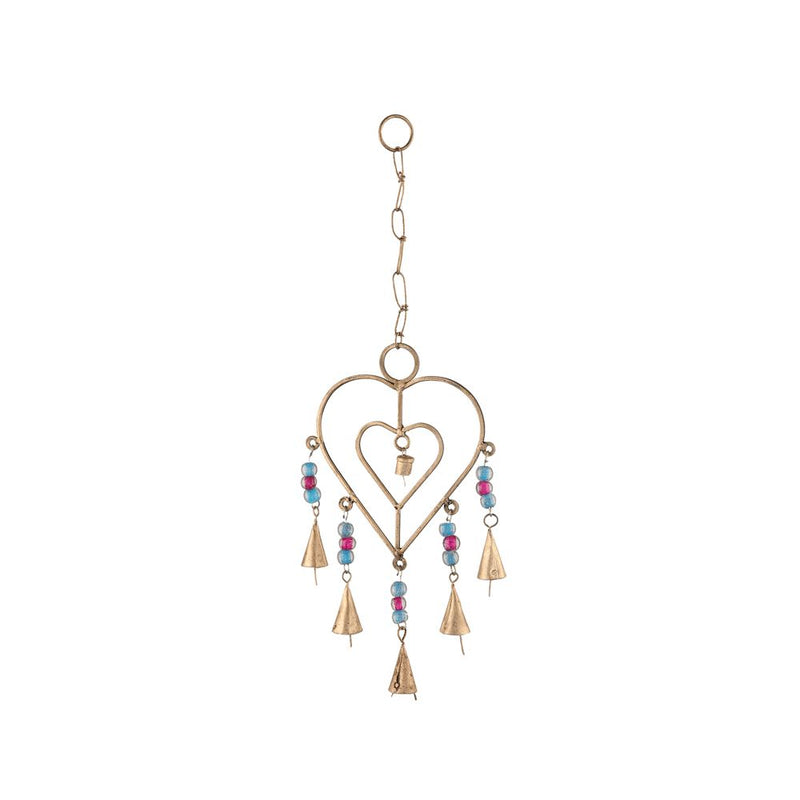 Double Heart Chimes